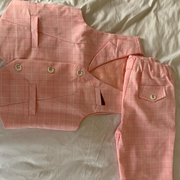 Other - Boys Super Cute Shorts Suit Set